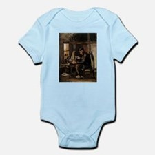 Van Gogh Man Winding Yarn Infant Bodysuit