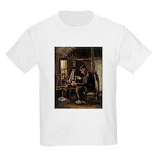 Van Gogh Man Winding Yarn T-Shirt