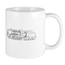 Steam Engine Train Mug