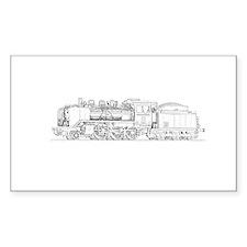 Steam Engine Train Decal