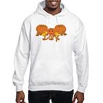 Halloween Pumpkin Cory Hooded Sweatshirt