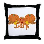 Halloween Pumpkin Cory Throw Pillow