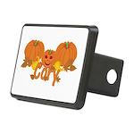 Halloween Pumpkin Cory Rectangular Hitch Cover