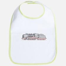 Steam Engine Train Bib