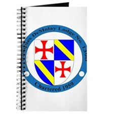Jacques DeMolay Lodge Pin Journal