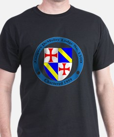 Jacques DeMolay Lodge Pin T-Shirt