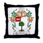 MacEnchroe Coat of Arms Throw Pillow