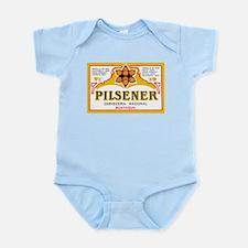 Ecuador Beer Label 1 Infant Bodysuit