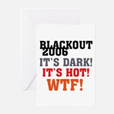 Black Out 2006 Greeting Cards (Pk of 10)