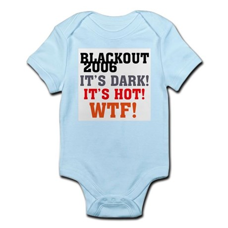 Black Out 2006 Infant Creeper