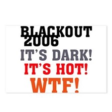 Black Out 2006 Postcards (Package of 8)