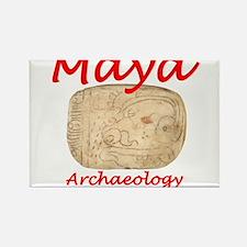 Maya archaeology - Architect Glyph Rectangle Magne