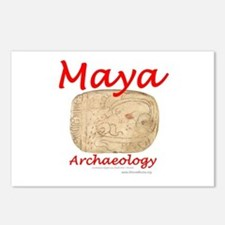 Maya archaeology - Architect Glyph Postcards (Pack