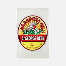Ethiopia Beer Label 4 Rectangle Magnet