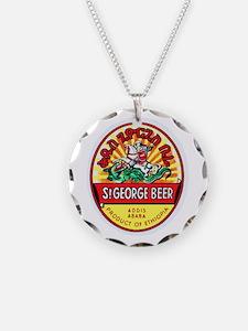 Ethiopia Beer Label 4 Necklace