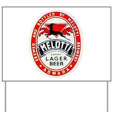 Ethiopia Beer Label 2 Yard Sign