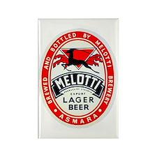 Ethiopia Beer Label 2 Rectangle Magnet