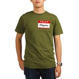 Hello my name is steven Organic Men's T-Shirt (dark)
