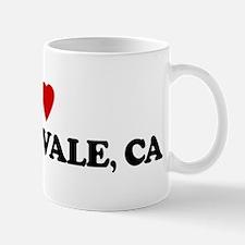 I Love ORANGEVALE Small Small Mug