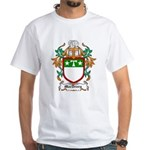 MacDrury Coat of Arms White T-Shirt