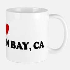 I Love HALF MOON BAY Mug