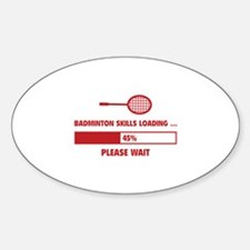 Badminton Skills Loading Decal