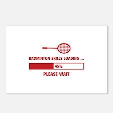 Badminton Skills Loading Postcards (Package of 8)