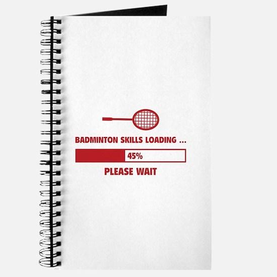 Badminton Skills Loading Journal