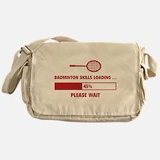 Badminton Skills Loading Messenger Bag