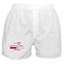 Badminton Skills Loading Boxer Shorts