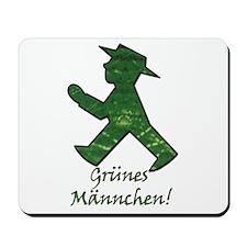 Berlin Gruenes Maennchen Mousepad