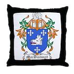 MacDiarmot Coat of Arms Throw Pillow