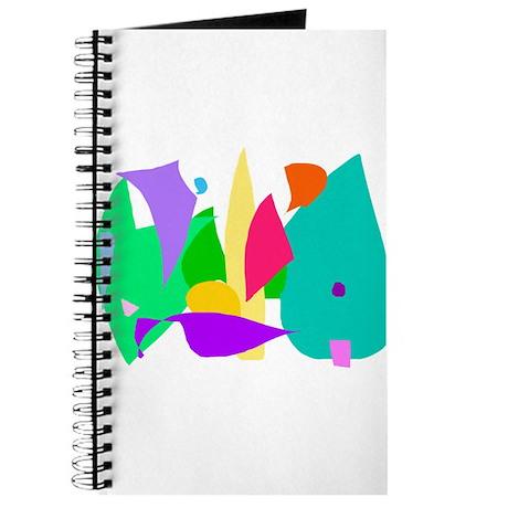 Imagination Dream Animal Child Soft Green Journal