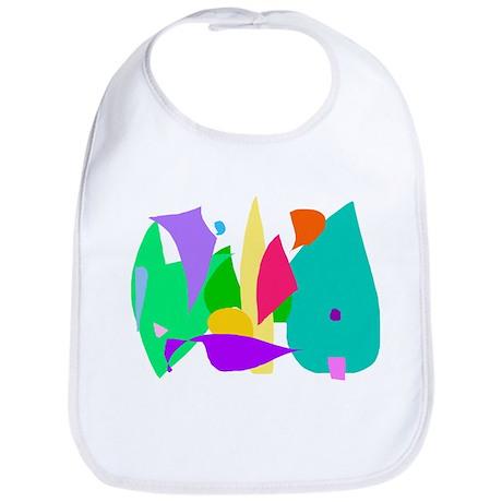 Imagination Dream Animal Child Soft Green Bib
