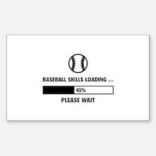 Baseball Skills Loading Decal