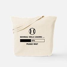 Baseball Skills Loading Tote Bag