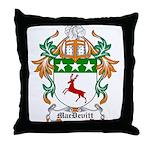 MacDevitt Coat of Arms Throw Pillow