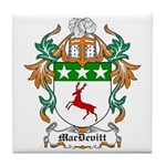 MacDevitt Coat of Arms Tile Coaster