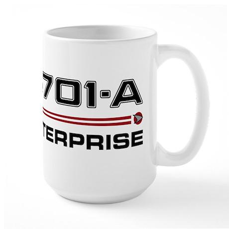USS Enterprise-A Dark Large Mug
