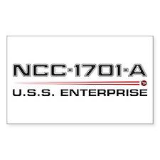 USS Enterprise-A Dark Decal
