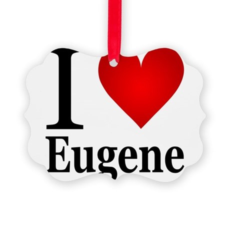 iloveeugene.png Picture Ornament