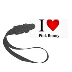 ilovepinkbunny.png Luggage Tag