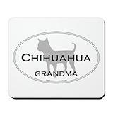 Chihuahua silhouette Classic Mousepad