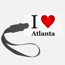 I Love Atlanta Luggage Tag