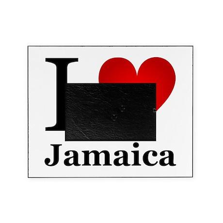 I Love Jamaica Picture Frame