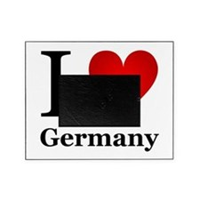 I Love Germany Picture Frame