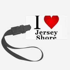 I Love Jersey Shore Luggage Tag