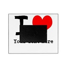 I Heart (personalized) Picture Frame