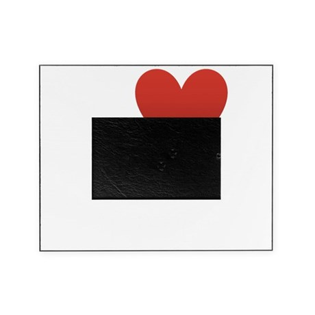 i-love-to-run.png Picture Frame