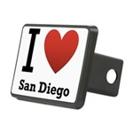 i-love-san-diego.png Rectangular Hitch Cover